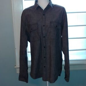 Express Shirts - Men's Express gray shirt size large